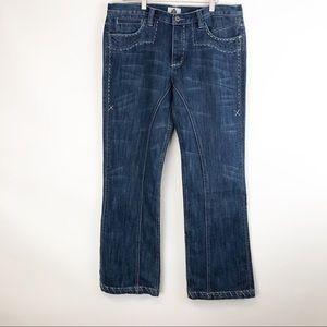 Antik Denim Men's Denim Blue Jeans Size 36X32